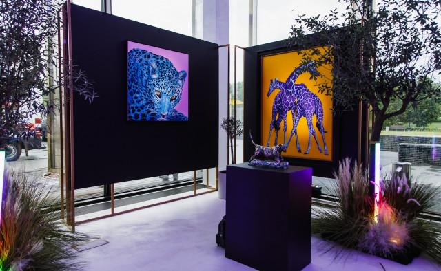 Выставка работ Хельмута Коллера и Марка Коре в арт-пространстве Victory Park Residences