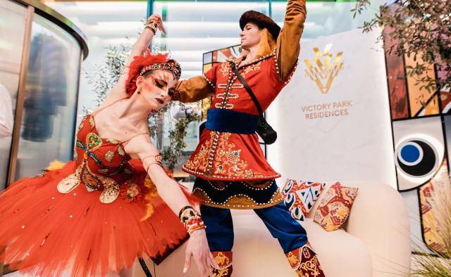 В Victory Park Residences открылась выставка Льва Бакста